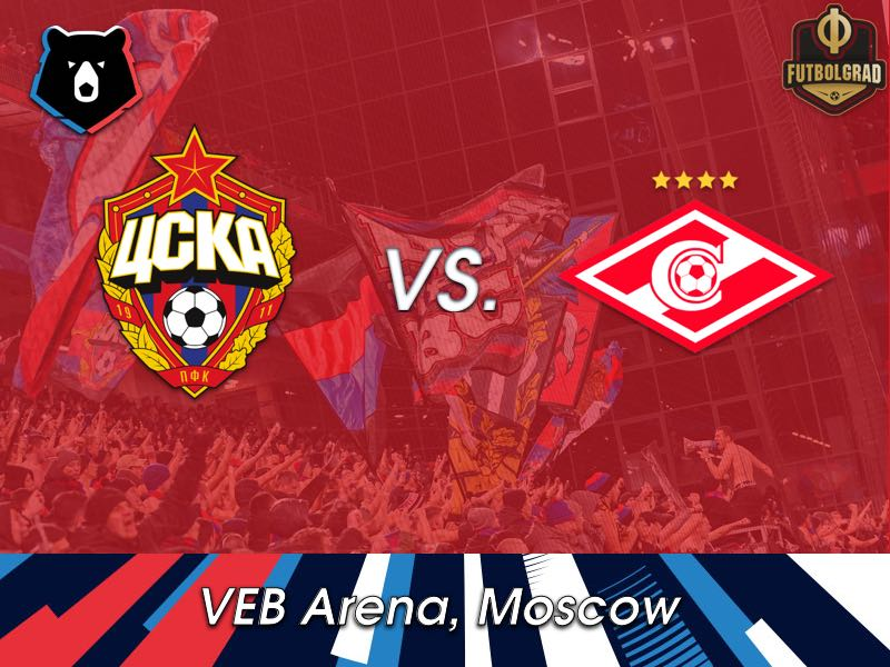 CSKA take on Spartak in the Main Moscow Derby