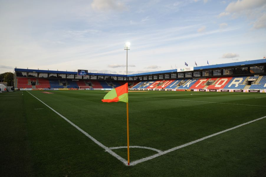 Viktoria Plzen vs CSKA Moscow will take place at the Štruncovy Sady Stadion in Plzen. (Photo by Michal Cizek/EuroFootball/Getty Images)