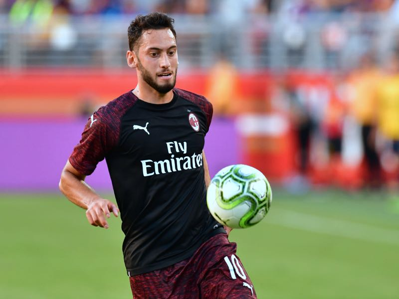 Milan's Hakan Calhanoglu will be Turkey's key player (FREDERIC J. BROWN/AFP/Getty Images)