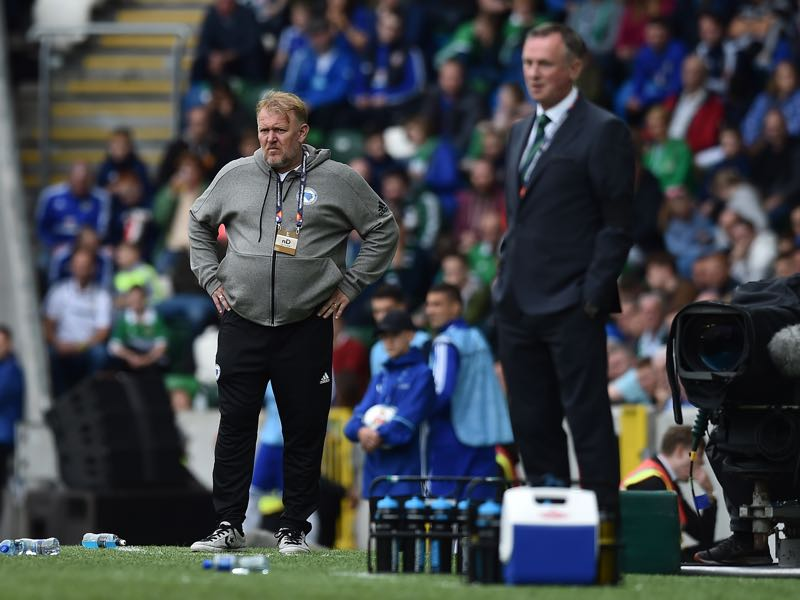 Northern Ireland v Bosnia and Herzegovina. Both coaches can take a lot of positives from this performance (Photo by Charles McQuillan/Getty Images)