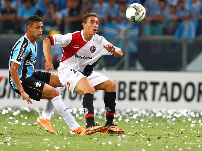 Ezequiel Ponce is on his latest loan tour, his third since signing for Roma from Newell's Old Boys in 2015 (Photo by Lucas Uebel/Getty Images)