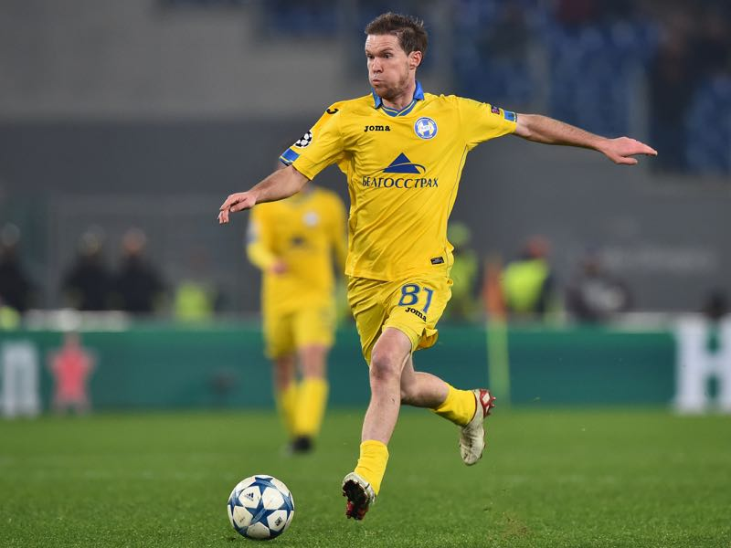 Aleksandr Hleb still makes the occasional appearance for his club BATE (GABRIEL BOUYS/AFP/Getty Images)