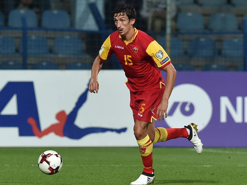 Stefan Savić will be Montenegro's leader in the UEFA Nations League C Group 4 (Photo by Giuseppe Bellini/Getty Images)