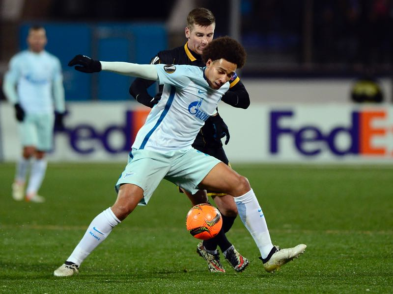 Zenit have not have had a player like Claudio Marchisio since Axel Witsel left the club for China (OLGA MALTSEVA/AFP/Getty Images)