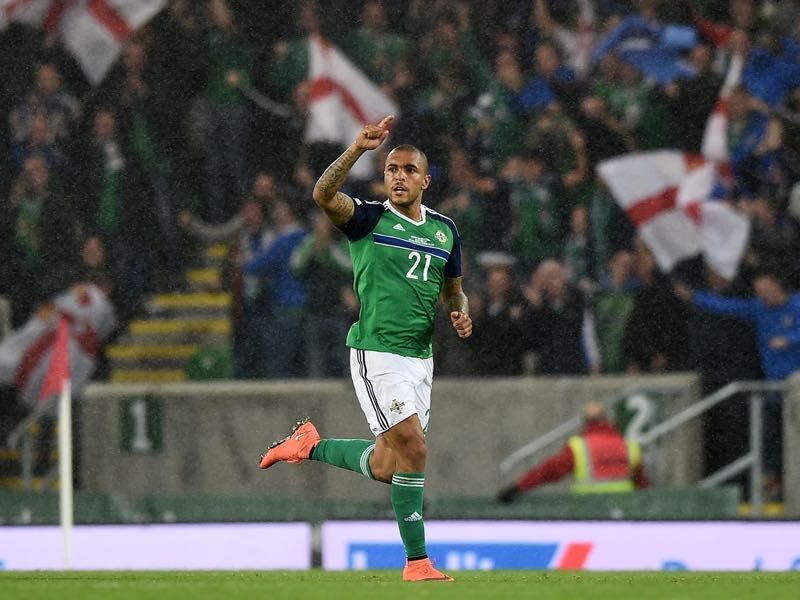 Josh Magennis will be Northern Ireland's key player (Photo by Charles McQuillan/Getty Images)