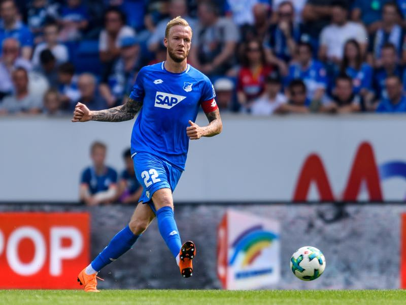 Kevin Vogt will be a key player for Hoffenheim in Group F (Photo by Alexander Scheuber/Bongarts/Getty Images)