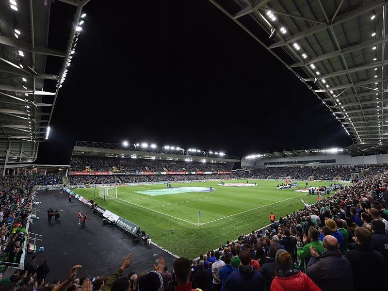 Northern Ireland vs Bosnia and Herzegovina will take place at Windsor Park in Belfast (Photo by Charles McQuillan/Getty Images)