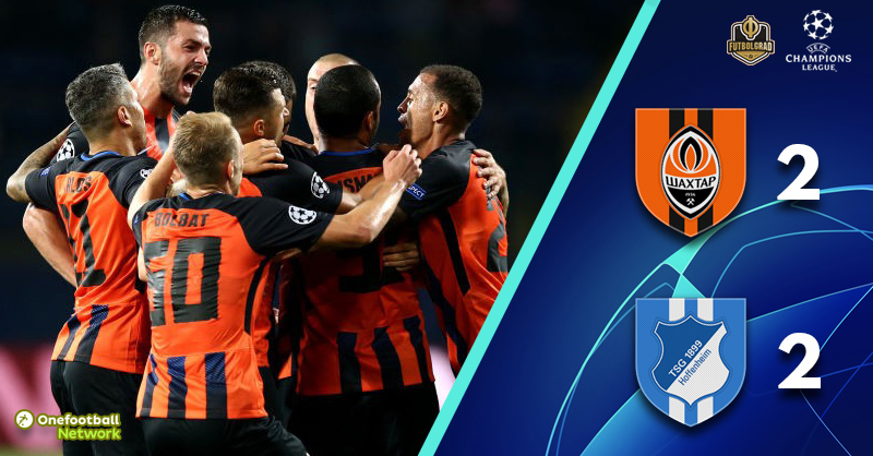 Shakhtar and Hoffenheim deliver football spectacle at the Metalist