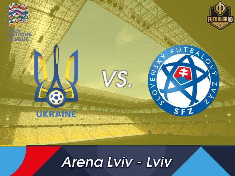 Ukraine host Slovakia in Lviv behind closed doors