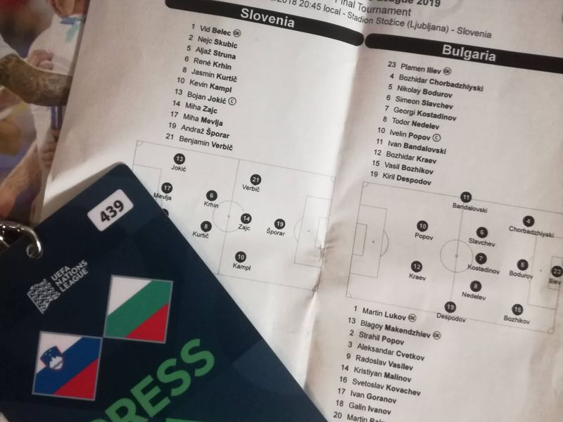Slovenia vs Bulgaria - UEFA has dressed up the Nations League nicely to make it look more than glorified friendlies (Antun Katalenić/Futbolgrad Network)