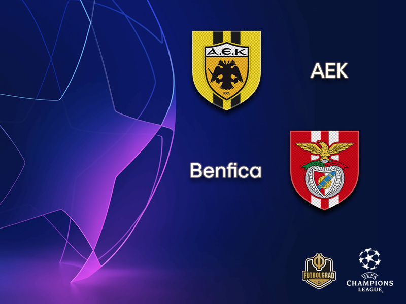 AEK and Benfica are looking for their first Champions League win