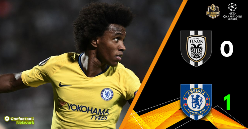 Despite narrow victory, Chelsea dominate PAOK in the derby of the oligarchs