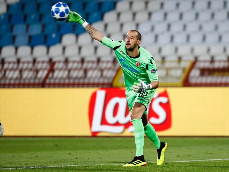 Milan Borjan will be Crvena zvezda's key player (Photo by Srdjan Stevanovic/Getty Images)