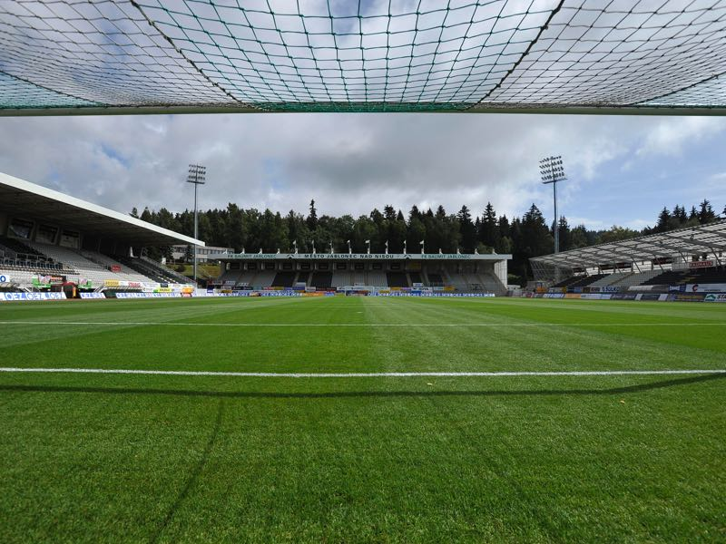 FK Jablonec vs Dynamo Kyiv will take place at the Strelnice Stadion (Photo by EuroFootball/Getty Images)