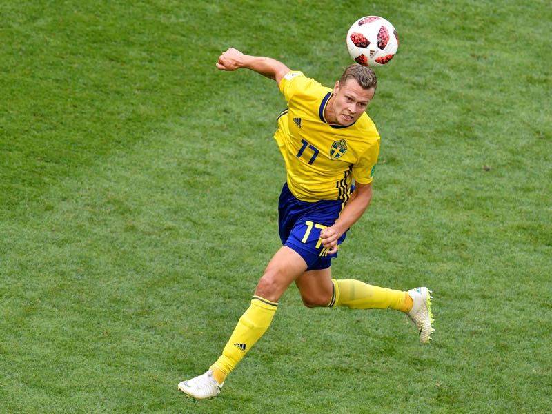 Viktor Claesson will be an important player for Sweden (ALEXANDER NEMENOV/AFP/Getty Images)