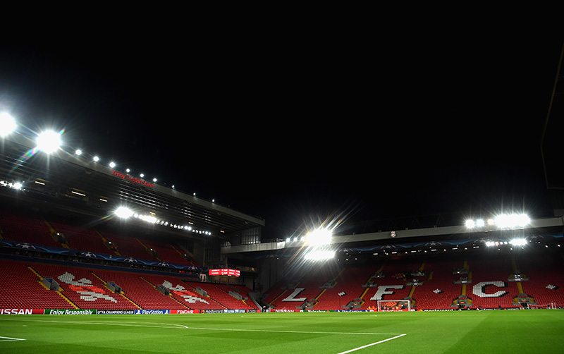 Liverpool vs Crvena Zvezda will take place at Anfield.