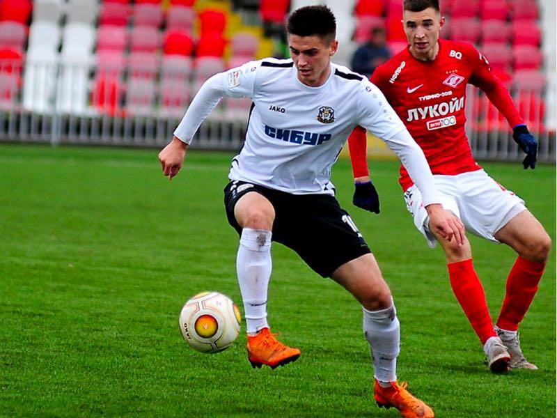 Maksim Leuk will be FC Tyumen's key player (fc-tyumen.ru/Tatiana Adrianova)