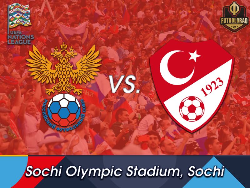 Russia look to qualify for the Nations League playoffs when they face Turkey