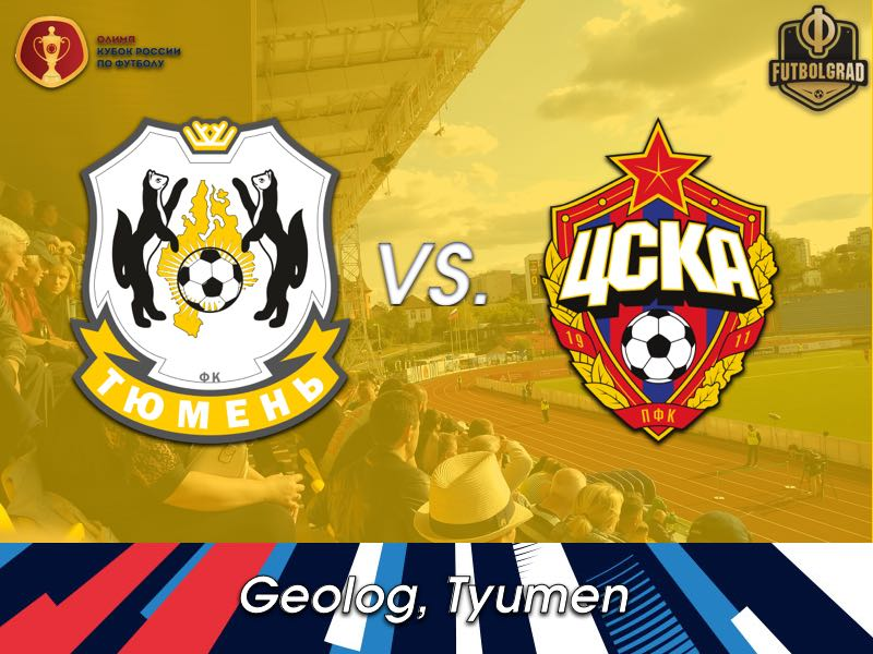 Tyumen will try to upset the applecart against CSKA Moscow in the Russian Cup