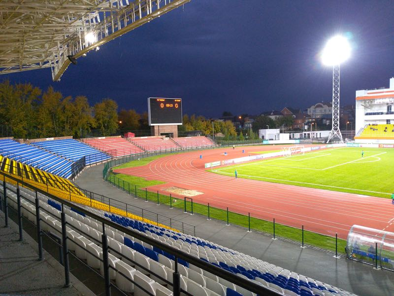 The Russian Cup match Tyumen vs CSKA Moscow will take place at the Geolog in Tyumen (Andrew Flint/Futbolgrad Network)