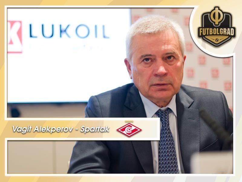 Vagit Alekperov – The man behind Spartak owner Fedun