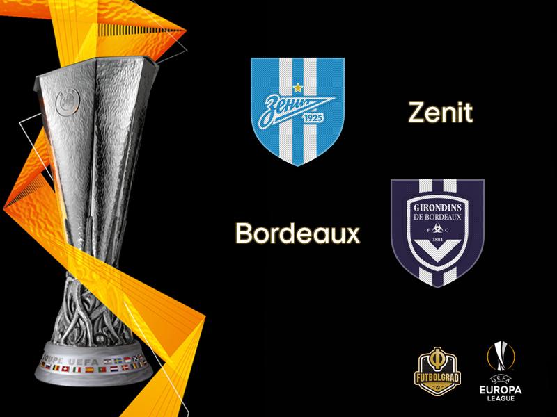 Europa League – Zenit want to regain momentum when they host French side Girondins Bordeaux
