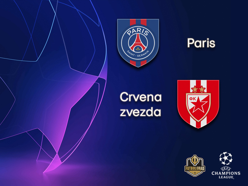 02bb7a1d103 Paris Saint-Germain host Serbian giants Crvena zvezda. HomeChampions League