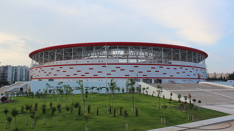 Turkey vs Ukraine will take place at the Antalya Stadyumu in Antalya (Onur, CC-BY-SA-4.0)