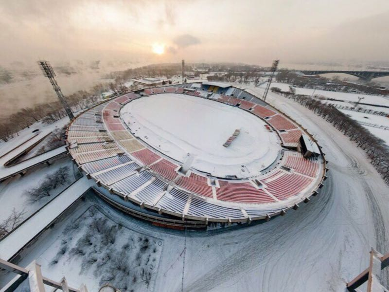 Yenisey vs Akhmat Grozny will take place at the Central Stadium in Krasnoyarsk (Via Yenisey Krasnoyarsk Twitter)
