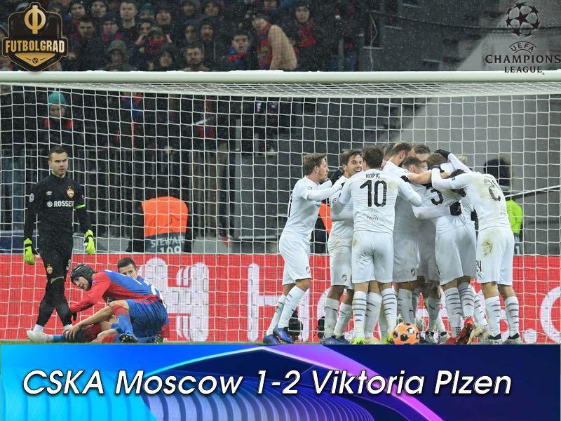 Viktoria come from behind at the Luzhniki to end CSKA's Champions League season