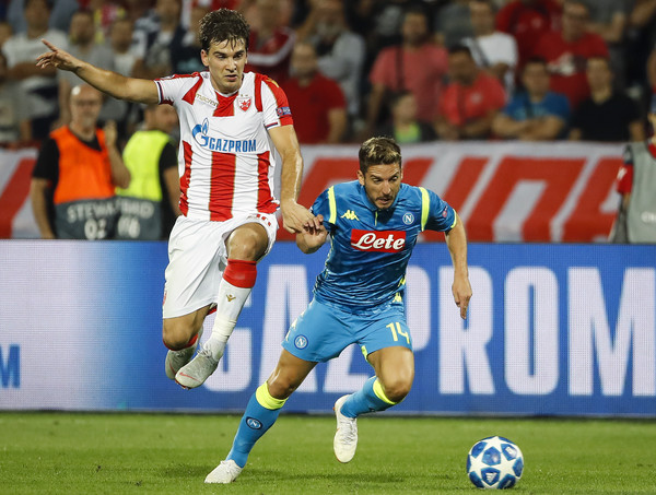 Filip Stojkovic will be one to watch when Crvena Zvezda vs Liverpool takes place.