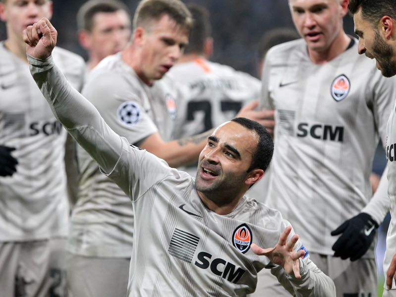 Shakhtar Donetsk defeated Hoffenheim on Tuesday but because of martial law might not be able to play their home game against Lyon in Kharkiv (DANIEL ROLAND/AFP/Getty Images)