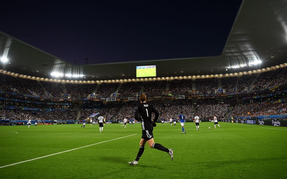 Bordeaux vs Zenit will take place at the Stade Matmut Atlantique in Bordeaux (Photo by Laurence Griffiths/Getty Images)