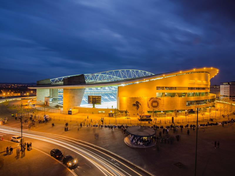 Porto vs Krasnodar will take place at the Dragao in Porto (Photo by Octavio Passos/Getty Images)