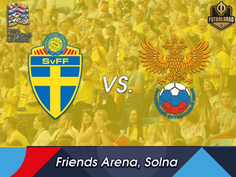 Sweden and Russia battle for promotion at the Friends Arena