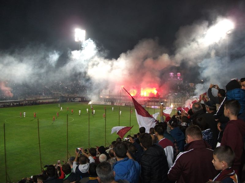 Academia Rapid v CSA Steaua at Giulesti (Futbolgrad Network/Tim Appleton)