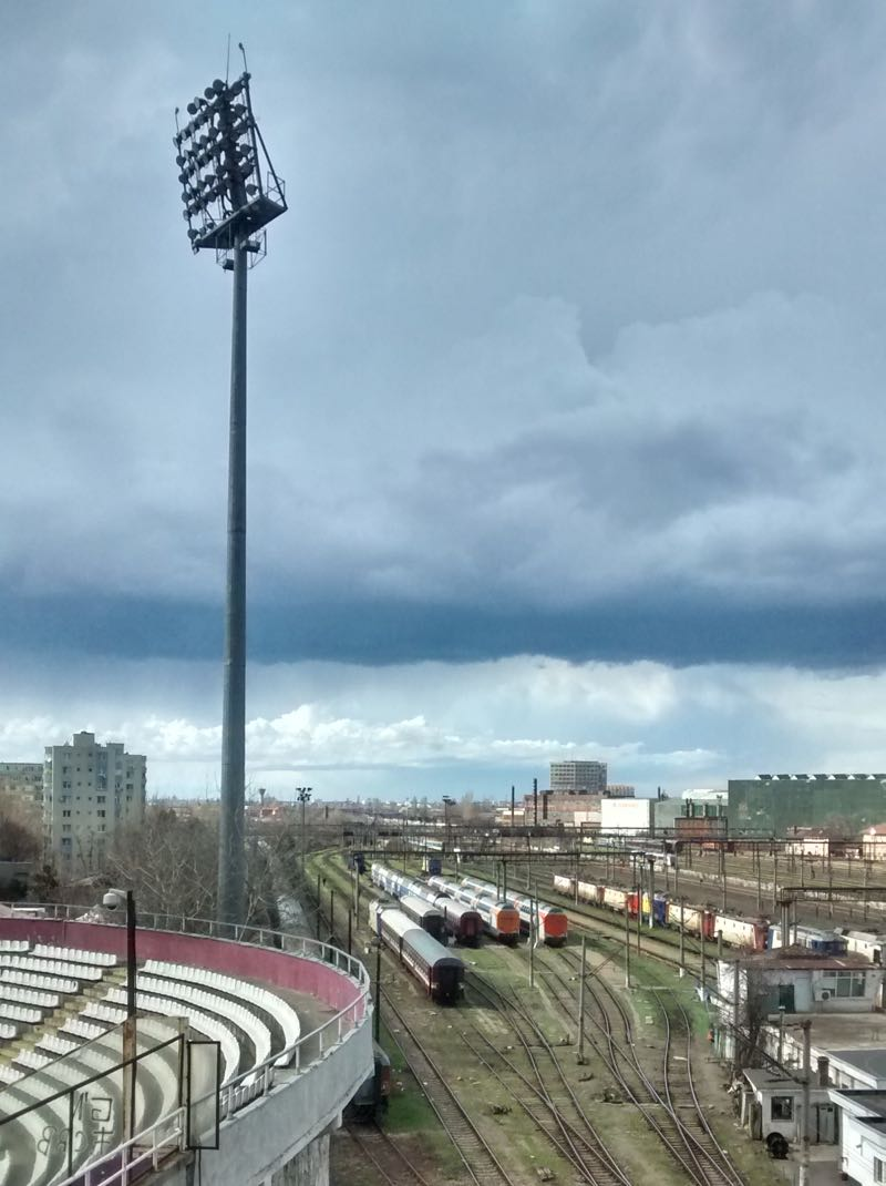 Giulesti railway view (Tim Appleton/Futbolgrad Network)
