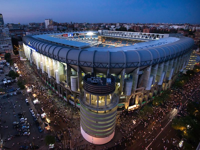 Real Madrid vs CSKA Moscow will take place at the Bernabéu Stadium in Madrid. (Photo by Gonzalo Arroyo Moreno/Getty Images)