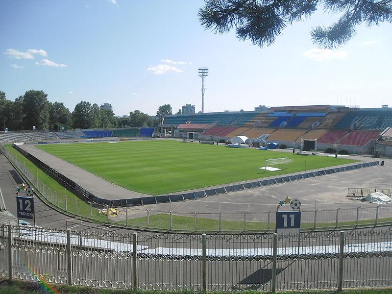 Ataka Minsk played at the Stadion Traktor (Dymitr     CC-BY-SA-4.0)