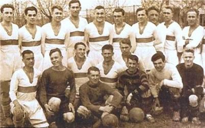 The 1941 Dynamo Kyiv team was torn apart by the war. (Image via Dynamo Kyiv)