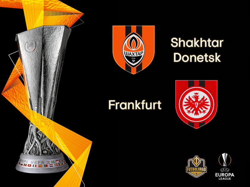 Shakhtar host high-flying Eintracht Frankfurt in Kharkiv
