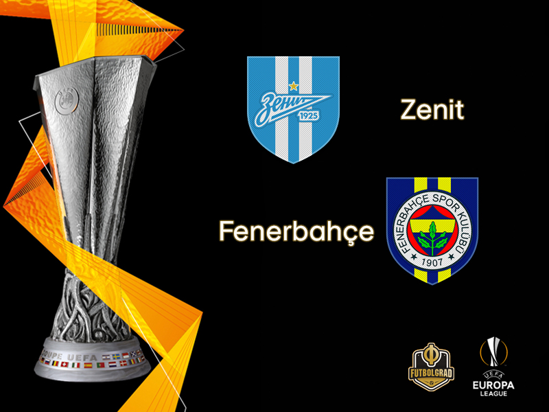 Zenit want to overturn first leg defeat when they host Fenerbahçe