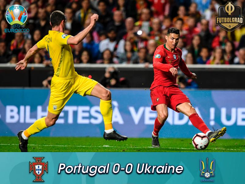 Pyatov's heroics earn Ukraine a point in Portugal