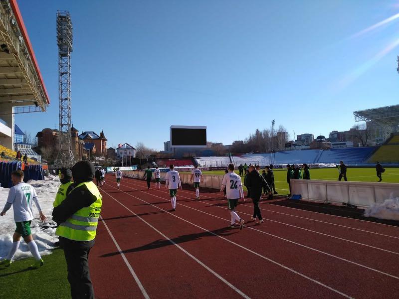 FC Tyumen - The future is in doubt (Picture Andrew Flint - Futbolgrad Network)