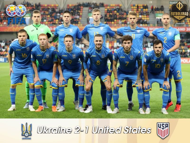 Ukraine open U20 World Cup with victory over the United States