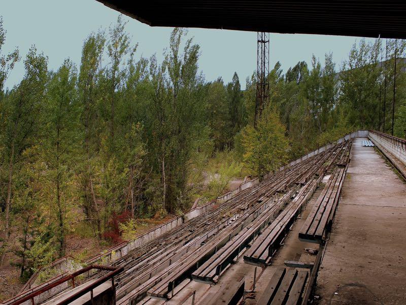 Stroitel Pripyat - Chernobyl's forgotten football team