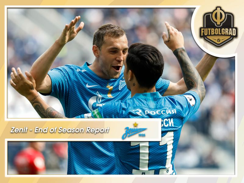 Zenit St. Petersburg – End of Season Report