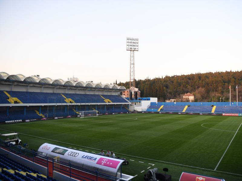 Budućnost vs Zorya Luhansk will take place at the Podgorica City Stadium (Photo by Michael Regan/Getty Images)