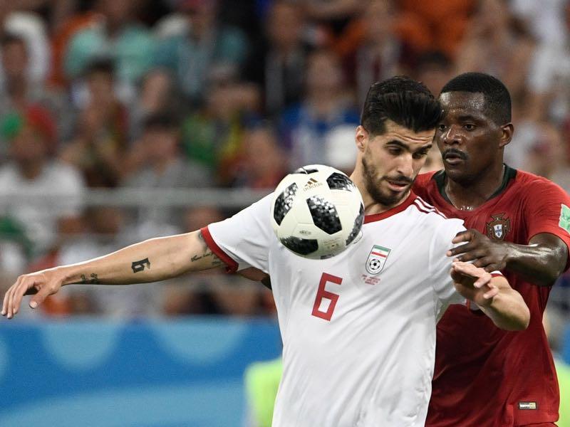 Iran's midfielder Saeed Ezatolahi will be among Rostov's biggest stars for the 2019/20 Russian Premier Liga season (Photo by Filippo MONTEFORTE / AFP)
