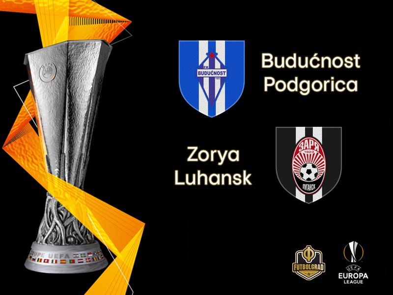 Europa League: Budućnost host Zorya Luhansk in Podgorica